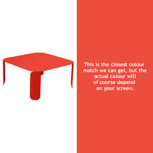 Bebop Square Table - 42cm high - Capucine