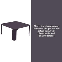 Bebop Square Table - 42cm high - Plum