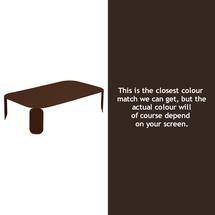 Bebop Rectangular Table - 29cm high- Russet