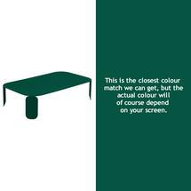 Bebop Rectangular Table - 29cm high - Cedar Green