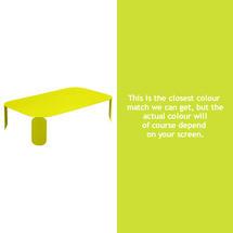Bebop Rectangular Table - 29cm high- Verbena Green