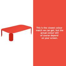 Bebop Rectangular Table - 29cm high - Capucine