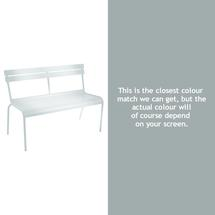Luxembourg Bench - Steel Grey