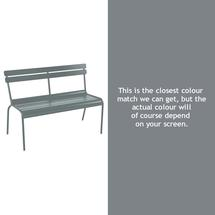 Luxembourg Bench - Storm Grey