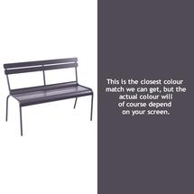 Luxembourg Bench - Plum