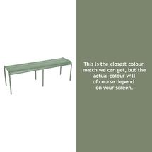 Luxembourg Backless Bench - Cactus