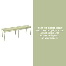 Luxembourg Backless Bench - Willow Green