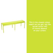 Luxembourg Backless Bench - Verbena Green