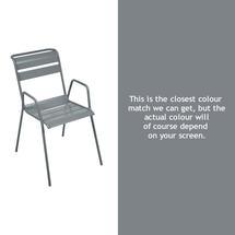 Monceau Armchair - Storm Grey