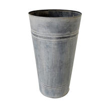 Zinc Florist Buckets - Medium