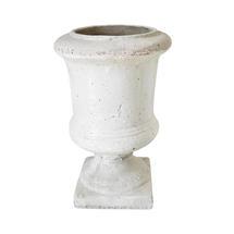 Petite Glazed Stone Urn