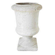 Grande Glazed Stone Urn