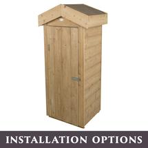 Shiplap Small Garden Store with Assembly