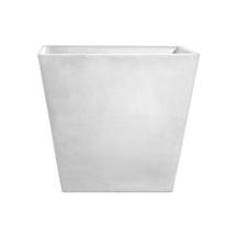 Eco Planter - White-grey Tapered Square 40cm