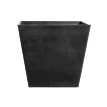 Eco Planter - Charcoal Tapered Square 40cm