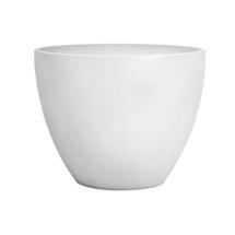 Eco Planter - Chalk White Round 40cm