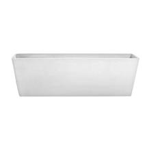 Eco Planter - Chalk White Balcony Trough