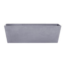 Eco Planter - Concrete Grey Balcony Trough