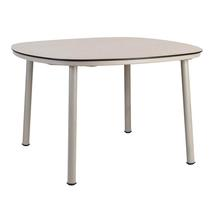Cordial 120cm Dining Table - Beige with Sand Top