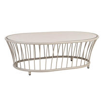 Cordial Coffee Table - Beige with Sand Top