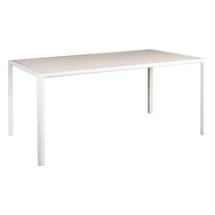 Fresco Rectangular Dining Table - Shell with Sand Top