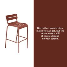 Luxembourg High Chair - Red Ochre