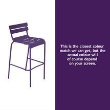 Luxembourg High Chair - Aubergine