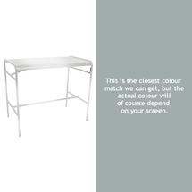 Luxembourg High Bar Table - Steel Grey