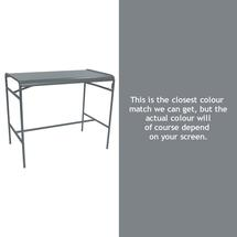Luxembourg High Bar Table - Storm Grey