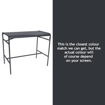 Luxembourg High Bar Table - Anthracite