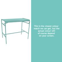 Luxembourg High Bar Table - Lagoon Blue