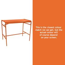 Luxembourg High Bar Table - Carrot