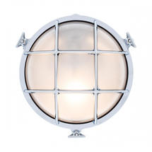 Large Round Bulkhead - Chrome