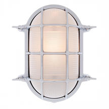 Extra Large Oval Bulkhead - Chrome