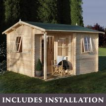 Malvern Log Cabin with Assembly Service