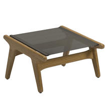 Bay Footstool Teak - Granite Sling