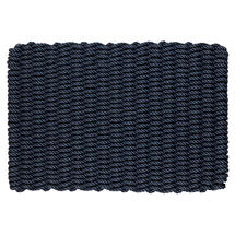Outdoor Rope Doormat - Dark Navy