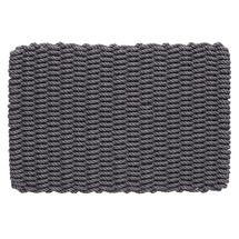 Outdoor Rope Doormat - Slate Grey