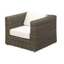 Havana Willow Modular Lounge Chair - Seagull