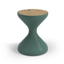 Bells Side Table Buffed Teak - Jade