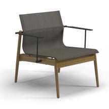 Sway Teak Lounge Chair Meteor / Granite Sling