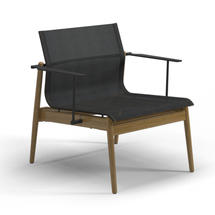 Sway Teak Lounge Chair Meteor / Anthracite Sling