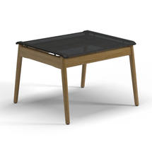 Sway Teak Ottoman (Meteor / Anthracite Sling