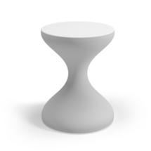 Bells Aluminium Side Table - White