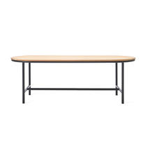 Wicked Dining Table 200 X 90cm - Teak Top