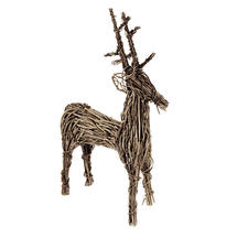 Wicker Vine Reindeer - Large
