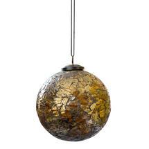 Metallic Mosaic Bauble - Large
