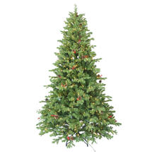 Cones and Berries 7.5' LED Fir Tree