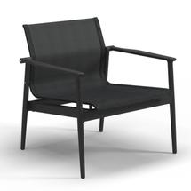 180 Stacking Lounge Chair with Aluminium Arms - Meteor/Anthracite
