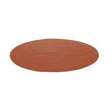 140cm Round Outdoor Rug - Vermillion